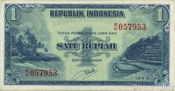 1 Rupiah INDONÉSIE  1953 P.040 SUP