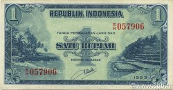1 Rupiah INDONÉSIE  1953 P.040 SPL