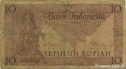 10 Rupiah INDONÉSIE  1952 P.043b