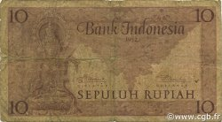 10 Rupiah INDONÉSIE  1952 P.043b B