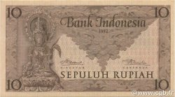 10 Rupiah INDONÉSIE  1952 P.043b pr.NEUF