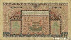 25 Rupiah INDONÉSIE  1952 P.044a TTB