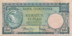 100 Rupiah INDONÉSIE  1957 P.051 SUP+