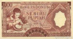 1000 Rupiah INDONÉSIE  1958 P.061 NEUF
