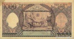 1000 Rupiah INDONÉSIE  1958 P.062 SUP