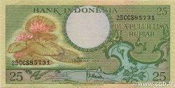 25 Rupiah INDONÉSIE  1959 P.067a SUP