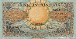 50 Rupiah INDONÉSIE  1959 P.068a SPL