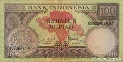 100 Rupiah INDONÉSIE  1959 P.069 TTB