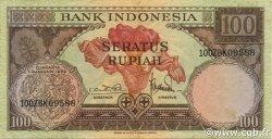 100 Rupiah INDONÉSIE  1959 P.069 TTB+
