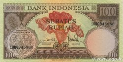 100 Rupiah INDONÉSIE  1959 P.069 SUP