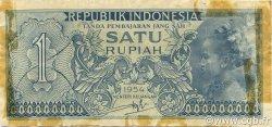 1 Rupiah INDONÉSIE  1954 P.072 TB