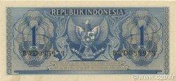1 Rupiah INDONÉSIE  1954 P.072 SPL