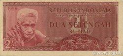 2,5 Rupiah INDONÉSIE  1956 P.075 TTB