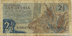 2.5 Rupiah INDONÉSIE  1960 P.077 TB