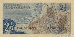 2.5 Rupiah INDONÉSIE  1960 P.077 NEUF