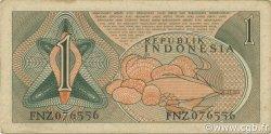 1 Rupiah INDONÉSIE  1961 P.078 TTB