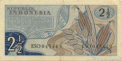 2 ½ Rupiah INDONÉSIE  1961 P.079 SPL
