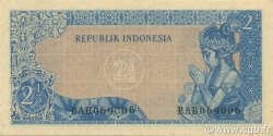 2.5 Rupiah INDONÉSIE  1961 P.079B NEUF