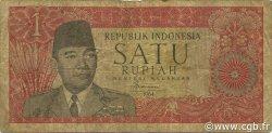 1 Rupiah INDONÉSIE  1964 P.080b TB