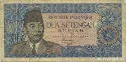 2,5 Rupiah INDONÉSIE  1964 P.081b TB