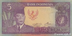 5 Rupiah INDONÉSIE  1960 P.082b NEUF