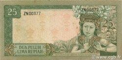 25 Rupiah INDONÉSIE  1960 P.084a SUP