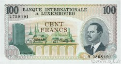 100 Francs LUXEMBOURG  1968 P.14a NEUF