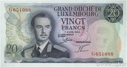 20 Francs LUXEMBOURG  1966 P.54a NEUF