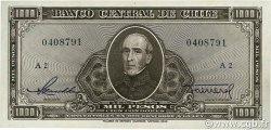 1000 Pesos - 100 Condores CHILI  1947 P.116 SUP+