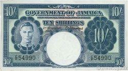 10 Shillings JAMAÏQUE  1940 P.38b SUP+