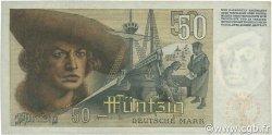 50 Deutsche Mark ALLEMAGNE FÉDÉRALE  1948 P.14a TTB+