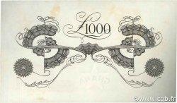 1000 Pounds GHANA  1958 P.04 SPL