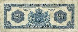 2,5 Gulden ANTILLES NÉERLANDAISES  1955 P.A01 TB+