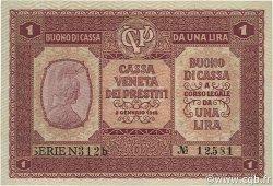 1 Lira ITALIE  1918 PM.04 NEUF