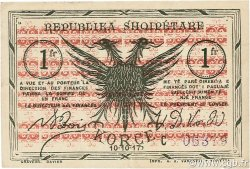 1 Franc ALBANIE  1917 PS.111 TTB+