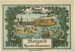 2 Mark MEMEL  1922 P.03b pr.NEUF
