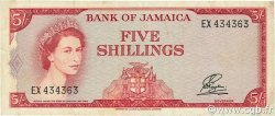 5 Shillings JAMAÏQUE  1964 P.51Ab TTB