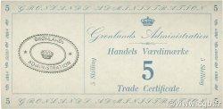 5 Skilling GROENLAND  1942 P.M09 pr.NEUF