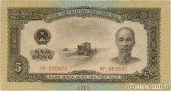 5 Dong VIET NAM  1958 P.073s pr.NEUF