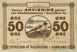 50 Ore GROENLAND  1913 P.12 TTB+