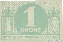 1 Krone GROENLAND  1913 P.13