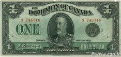1 Dollar CANADA  1923 P.033f TB+