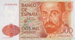 2000 Pesetas ESPAGNE  1980 P.159 NEUF