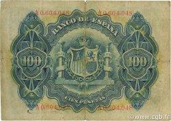 100 Pesetas ESPAGNE  1906 P.059a pr.TB