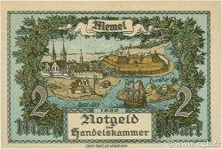 2 Mark MEMEL  1922 P.03b NEUF