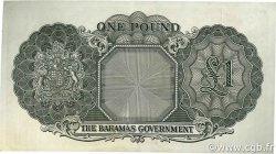 1 Pound BAHAMAS  1953 P.15d SUP