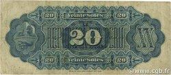 20 Soles PÉROU  1879 P.007a TB+