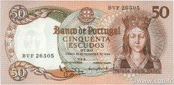 50 Escudos PORTUGAL  1964 P.168 pr.NEUF
