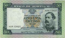 50 Escudos PORTUGAL  1960 P.164 SPL