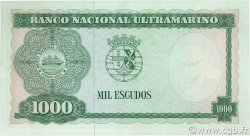 1000 Escudos TIMOR  1968 P.30a SUP+